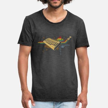 Vintage collage64 - Mannen Vintage T-shirt