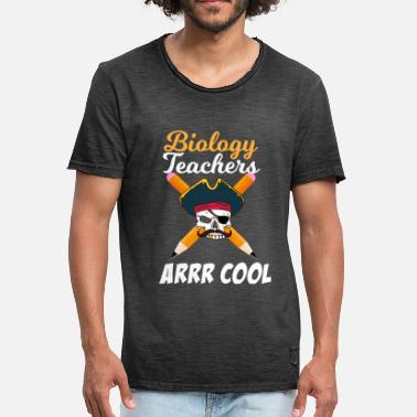 Biology Biology Teachers Arrr Cool - Men's Vintage T-Shirt