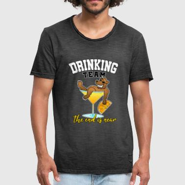 Cocktail Team Drinking Team JGA Cocktail Party Alcohol Gift - Men's Vintage T-Shirt