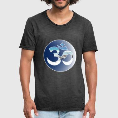 OM sign - Men's Vintage T-Shirt
