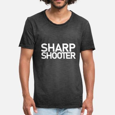 Sharpshooter Sharpshooter Wrestling Shirt - Men's Vintage T-Shirt