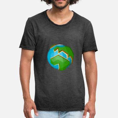 Planet Earth Planet Earth - Männer Vintage T-Shirt