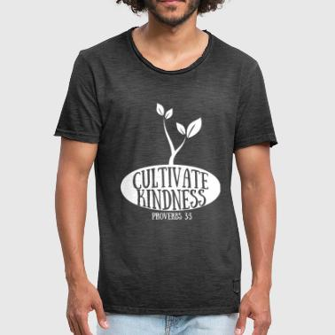 CULTIVATE KINDNESS - Proverbs 3: 3 - Men's Vintage T-Shirt
