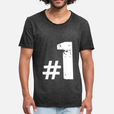 Number 1 Number 1 - Men's Vintage T-Shirt