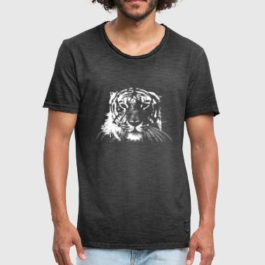 White Tiger WHITE TIGER - Men's Vintage T-Shirt