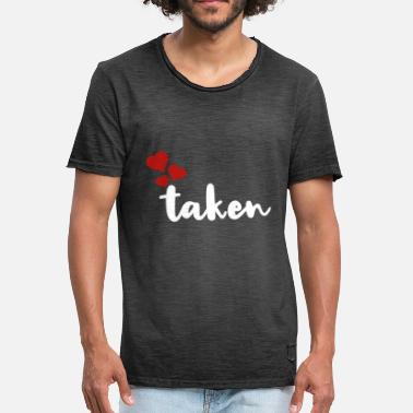 Taken Couple taken - Men's Vintage T-Shirt