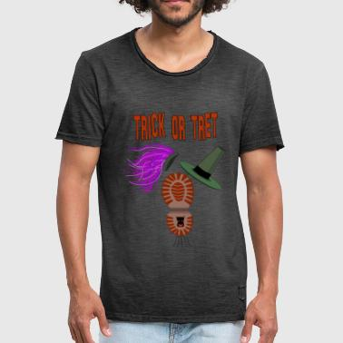 Trick Trick of pedaal - Mannen Vintage T-shirt
