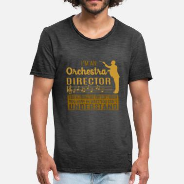 Orchestra I'm an orchestra director problems - Männer Vintage T-Shirt