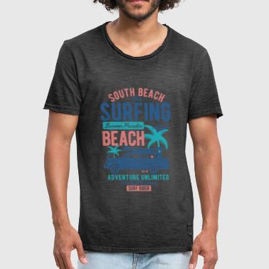 South Beach - T-shirt vintage Homme