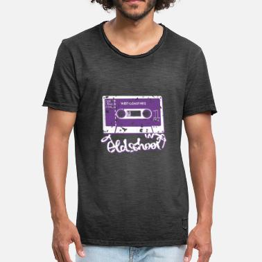 Collections oldschool tape - Mannen Vintage T-shirt