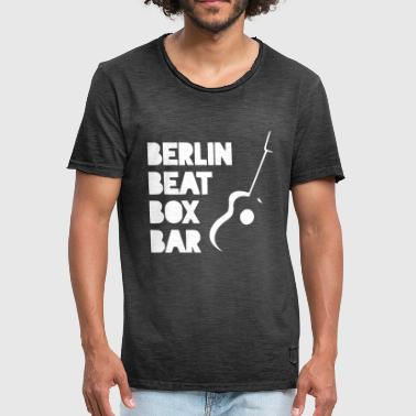 Beat Box BERLIN BEAT BOX BAR - Men's Vintage T-Shirt
