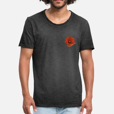 Ww1 A Poppy Flower - Men's Vintage T-Shirt