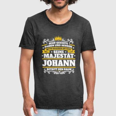 Johanne His Majesty Johann - Herre vintage T-shirt