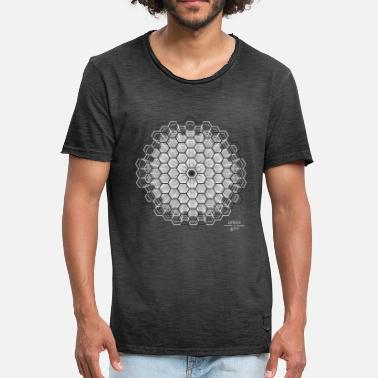 Hexagon hexagon - Men's Vintage T-Shirt