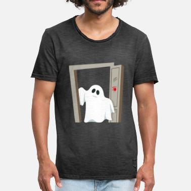 Scary Ghost Scary Ghost - Men's Vintage T-Shirt