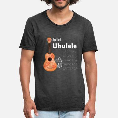 Chord Ukulele chords - Men's Vintage T-Shirt
