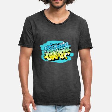Graff design Graff NEW YORK - Men's Vintage T-Shirt