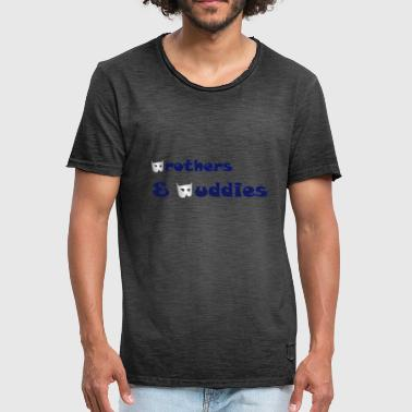 Brothers - Vintage-T-skjorte for menn