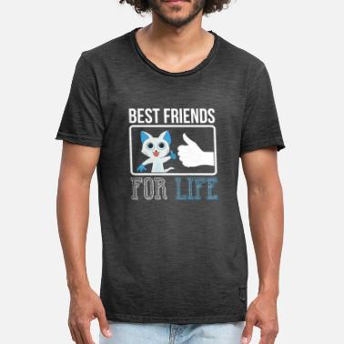 Friends For Life friends for life - Men's Vintage T-Shirt