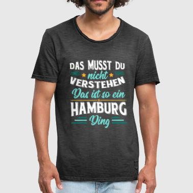 Conception HAMBURG svg - T-shirt vintage Homme