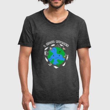 Organisation Earth environmental protection - Men's Vintage T-Shirt