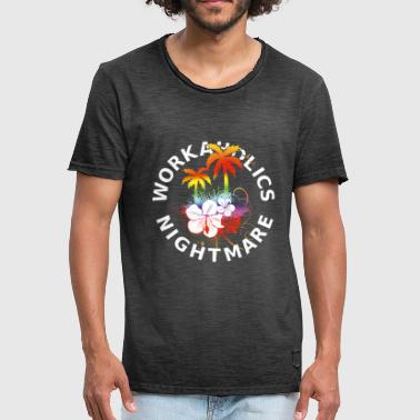 Workoholics Nightmare - Black Shirts Edition - Männer Vintage T-Shirt