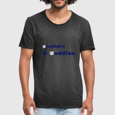 Brothers - Mannen Vintage T-shirt