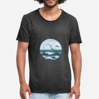 With Seagulls seagulls - Men's Vintage T-Shirt