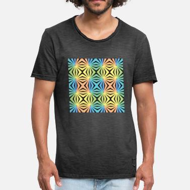 Optical Illusion Hypnosis optical illusion - Men's Vintage T-Shirt