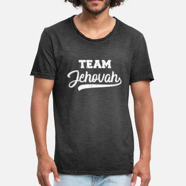 Jehovah Team Jehovah cool gift for Jehovah's Witnesses - Men's Vintage T-Shirt