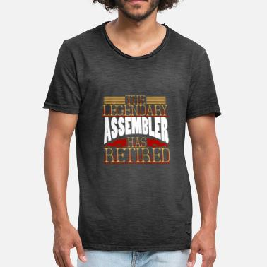 Assembly assembler - Men's Vintage T-Shirt