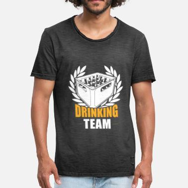 Beer Drinking Team Drinking beer team drinking - Men's Vintage T-Shirt
