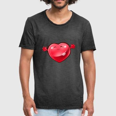 Heart with hands - Men's Vintage T-Shirt