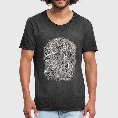 Weirdhead by Brian Benson - Men's Vintage T-Shirt