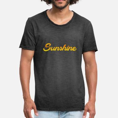 Never Give Up Sunshine - Men's Vintage T-Shirt