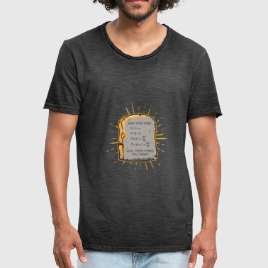 And God Said ... and then there's what Light - Men's Vintage T-Shirt