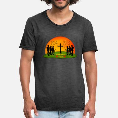 Remembrance Day Remembrance Day - Men's Vintage T-Shirt