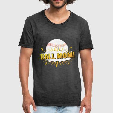 Baseball mom - Men's Vintage T-Shirt