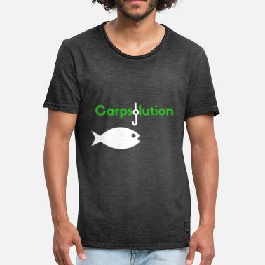 Insert Clothing Carpsolution Fishing Clothes - Men's Vintage T-Shirt