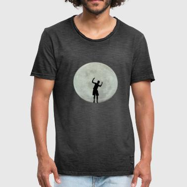 Moon Dance Dancing on the moon, romance gifts - Men's Vintage T-Shirt