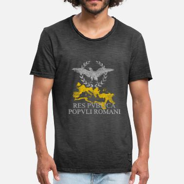 Roman Eagle ROMAN EMPIRE - Men's Vintage T-Shirt