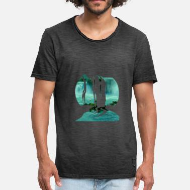 Waterfall waterfall - Men's Vintage T-Shirt