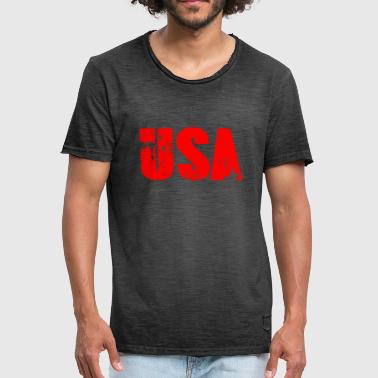US Law - Männer Vintage T-Shirt