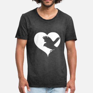 Songbird Heart songbird - Men's Vintage T-Shirt
