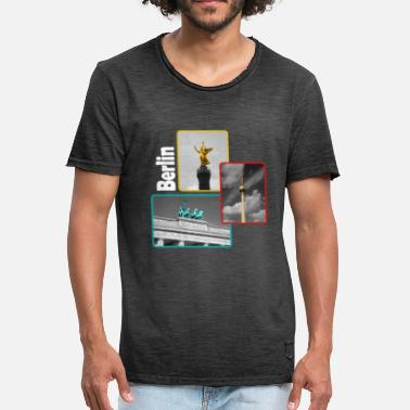 Landmark Berlin landmarks - Men's Vintage T-Shirt