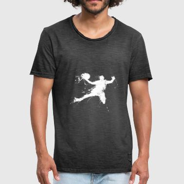 Slam Dunk Slam dunking basketball player - Men's Vintage T-Shirt