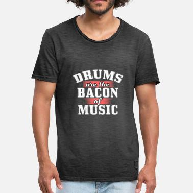 Instrument Drum music instrument - Men's Vintage T-Shirt