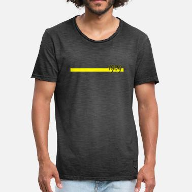 1909 1909 with yellow bar - Men's Vintage T-Shirt