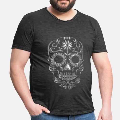 La Calavera Catrina Tattoo Significado Camiseta Vintage Hombre