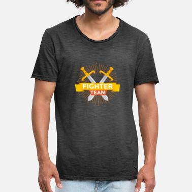 Swordfighter Swordfight Team T-Shirt & Gift - Men's Vintage T-Shirt